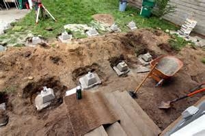 Cement Piers For Decks by Footings2 061211