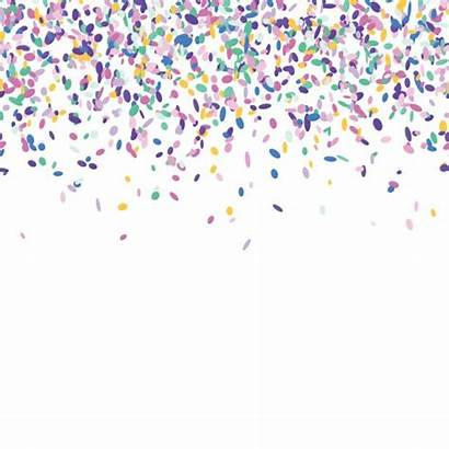 Confetti Clipart Background Sprinkles Vector Sprinkle Colorful
