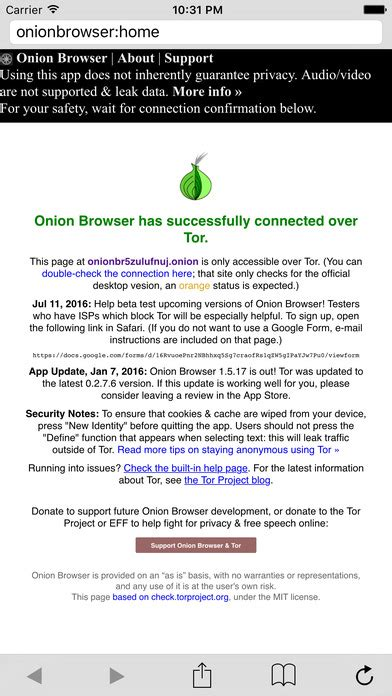 A Free Anonymous (tor) Web Browser For Ios — Insights For