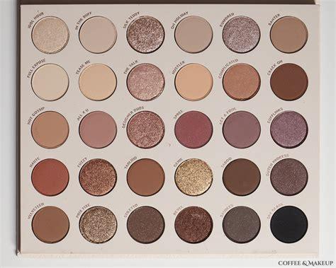colourpop bare necessities palette coffee makeup