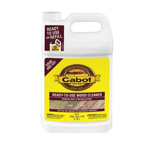 lowes canada deck cleaner cabot ready to use deck wash wood cleaner lowe s canada
