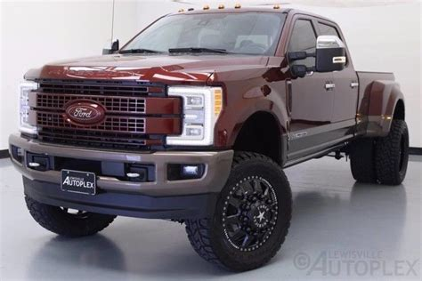 F350 King Ranch Bronze Fire Lift Kit FTS American Force