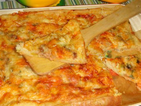 pate a pizza avec levure chimique