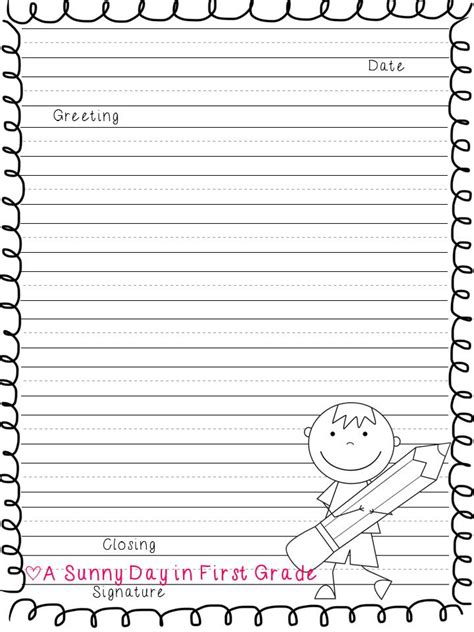 a sunny day in first grade letters to 2nd grade teachers a freebie