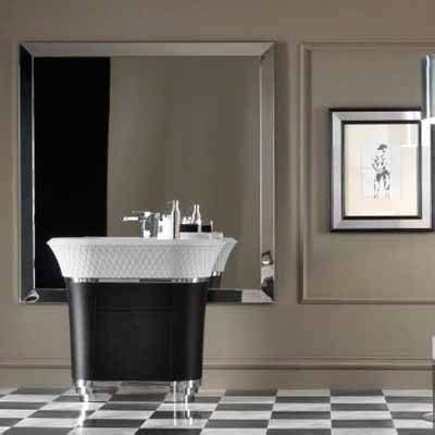 Modern Style Bathroom Mirrors by 20 Collection Of Deco Style Bathroom Mirrors