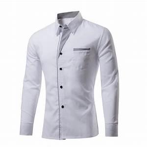 Chemise Homme Slim Fit : chemise slim fit homme marque marque 2016 robe chemises ~ Nature-et-papiers.com Idées de Décoration