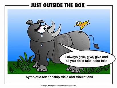 Symbiotic Relationship Relationships Cartoon Animals Woes Cartoons