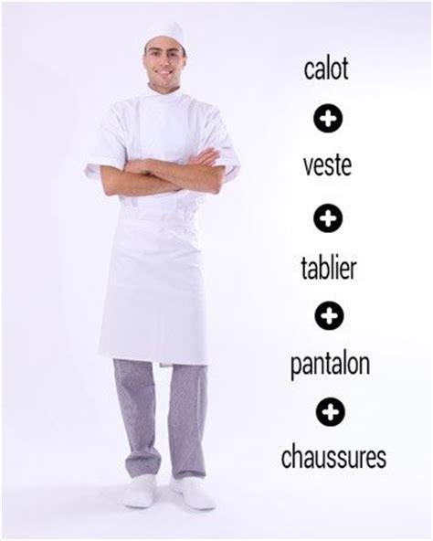 tenu cuisine vetement de cuisine et tenue de cuisine restauration