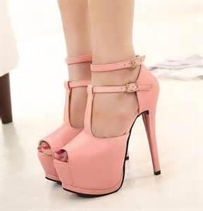 wedding shoes tacones durazno de moda