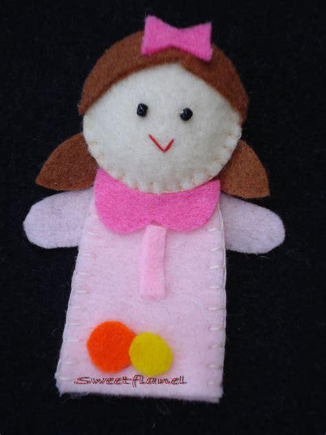 Boneka Jari Keluarga me time my sweet flanel boneka jari seri keluarga