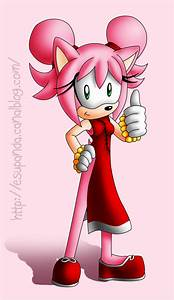 Amy Rose the Chinese Hedgehog by Shu-Silver on DeviantArt