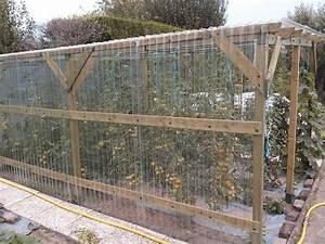 Faire Sa Serre En Polycarbonate : fabriquer une serre tunnel perfect serre jardin bache ~ Premium-room.com Idées de Décoration