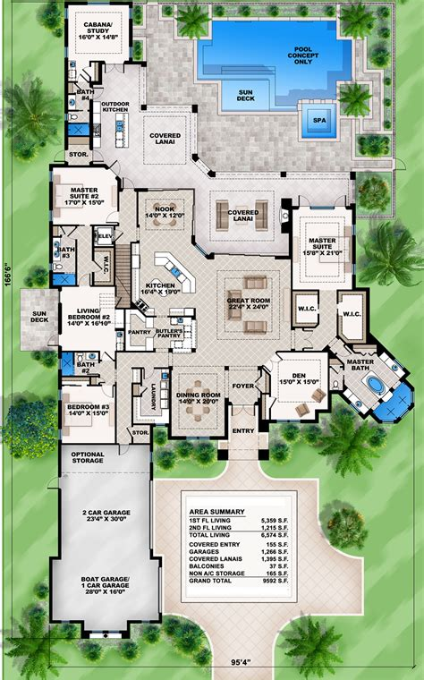 house layout program mediterranean home plan with 2 master suites