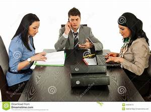 Business People Working In Office Stock Photos - Image ...