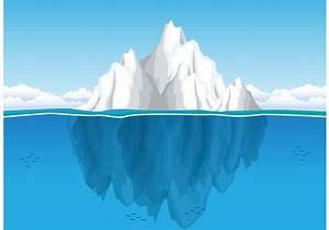 Iceberg Free Vector Art
