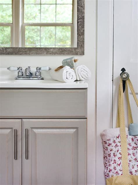 Updated Bathroom Ideas by Updating A Bathroom Vanity Hgtv