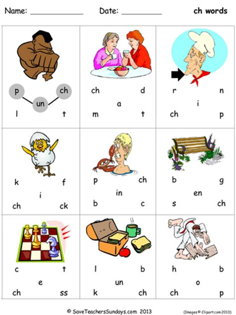 ch phonics worksheets by saveteacherssundays teaching