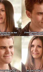 Stelena (Stefan Salvatore and Elena Gilbert) The vampire ...