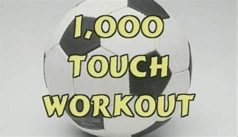 touch soccer workout  kwikgoal coachtube