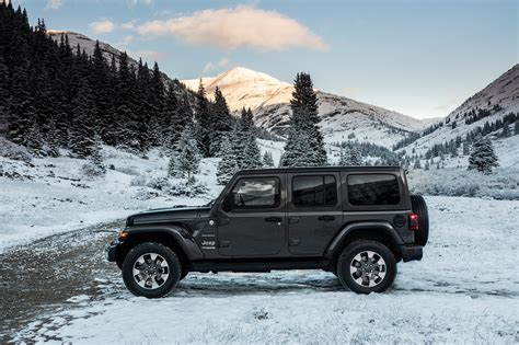 jeep unlimited 2018 2018 jeep wranger unlimited sahara automobile magazine