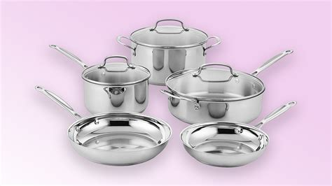 cuisinart stainless steel pots pans amazon cookware