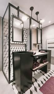 decorateur pour une salle de bain moderne a toulon With salle de bain industrielle