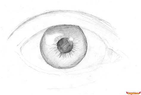 How to Draw Eye Pencil Drawings