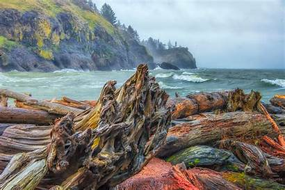 Oregon Coast Pacific Photographs Winter Cape Disappointment