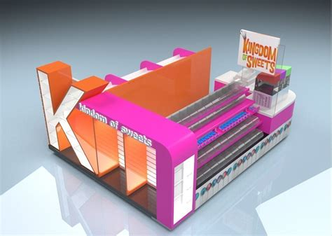 pick mix sweet candy kiosk design  mall