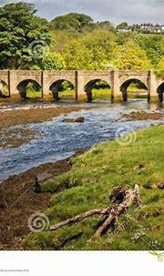 Castle Bridge. Buncrana. County Donegal. Ireland Stock ...