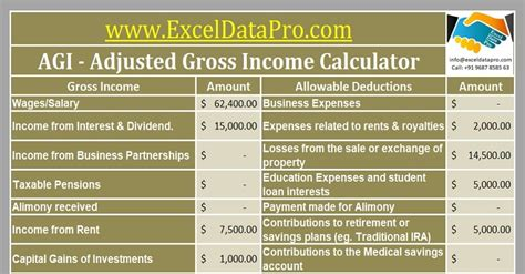 excel templates  prepare federal income tax return