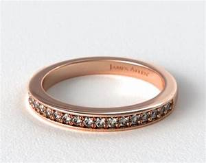 James Allen Exclusive Wedding Ring 14K Rose Gold 14853R14