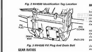 Transmission Plug Location  99 3500 Manuel Transmission