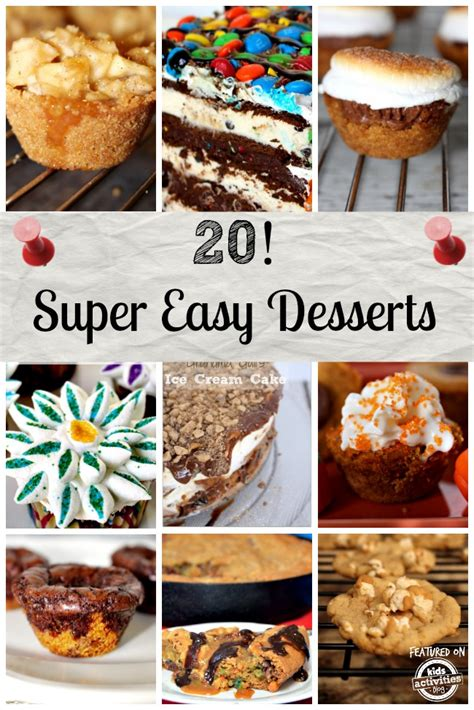 easy desserts to make 20 easy desserts that anyone can make
