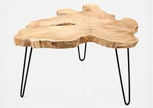 Table Basse Tronc D39arbre Design Les Esthtes
