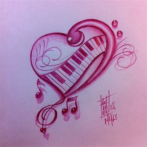 piano tattoo designs