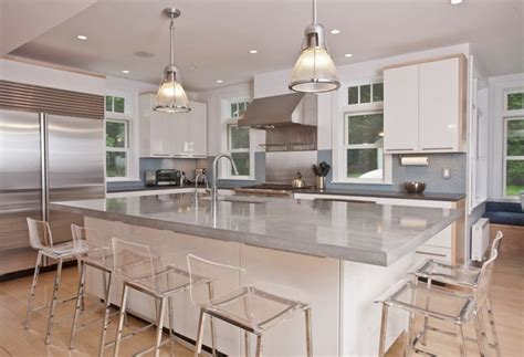 polished concrete kitchen island poured concrete countertops amazing durability and 4303