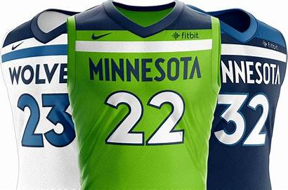 Timberwolves Minnesota Uniforms Nba Octane Era Jersey