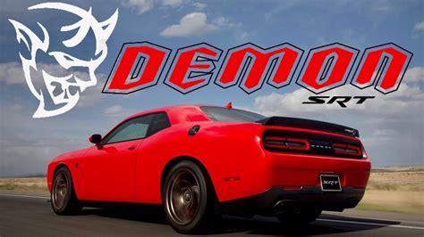 charger demon 2018 2018 dodge demon horsepower charger challenger dep