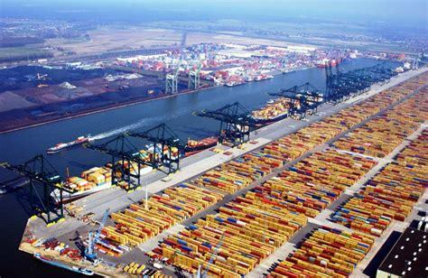 le port de rotterdam le port de rotterdam