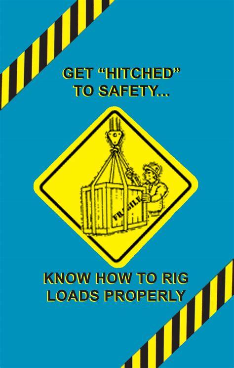 Rigging Safety Poster | OSHA Safety Videos