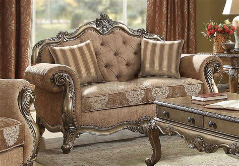 ragenardus sofa   gray fabric vintage oak  acme