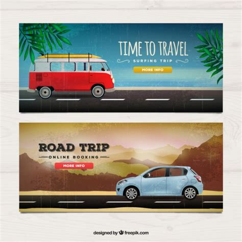 Realistic Travel Banners Vector  Free Download. Capton Decals. Spider Logo. Digital Coupons. Church Lettering