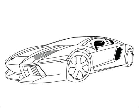 Kleurplaat Lamborghini Sesto Elemento by Lamborghini Coloring Pages Aventador Coloringstar