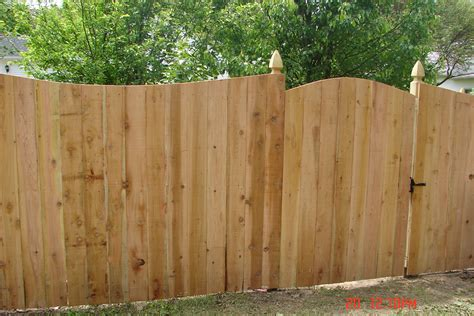 fence styles pictures wood