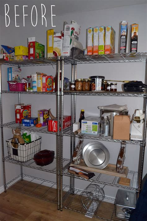 crux  wont   easy pantry shelving