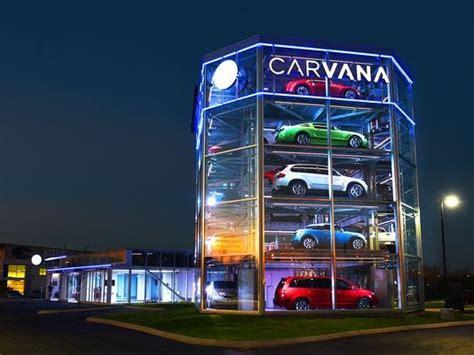 carvana vending machine spins  car industry   path