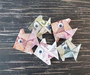 Sonnenschirm Aus Geld Basteln : geldschein falten fisch fertiger geld fisch aus ~ Lizthompson.info Haus und Dekorationen