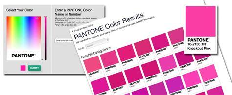 pantone color finder fashion trendsetter