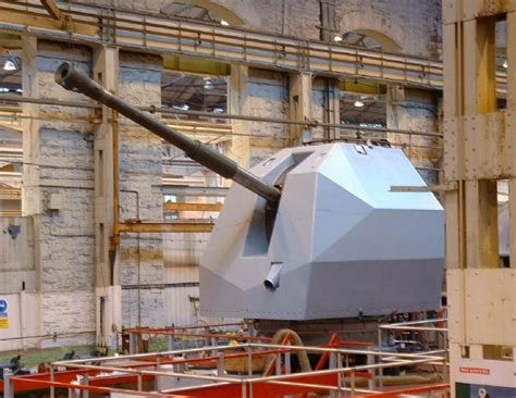 "United Kingdom  Britain 155 Mm (61"") Future Naval Gun"